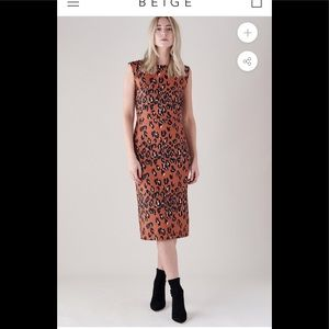 RACHEL COMEY MEDINA LEOPARD DRESS